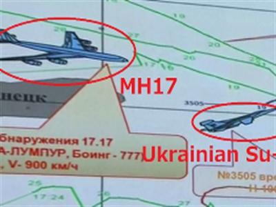 Nga: Chiến đấu cơ Ukraine xuất hiện gần MH17 trước khi bị bắn rơi