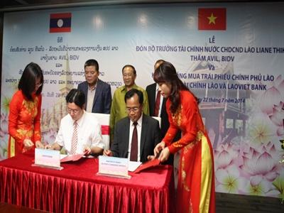 LaoVietBank mua 30 triệu USD trái phiếu Chính phủ Lào