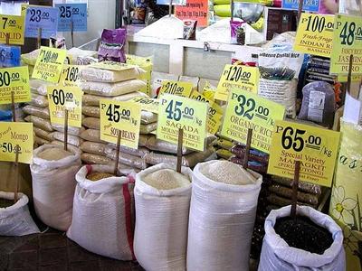 Philippines: Giá gạo trong nước cao kỷ lục