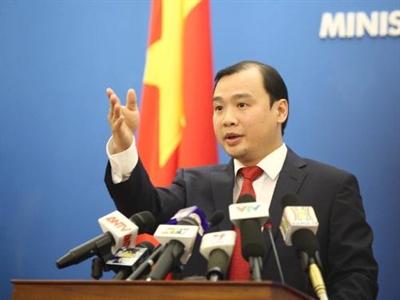Bộ Ngoại giao: Giàn khoan Hải Dương 981 đã rút hoàn toàn khỏi vùng biển Việt Nam