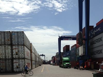 Tình trạng ùn tắc ở Cảng Cát Lái đã được cải thiện