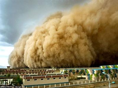 Vì sao máy bay Algeria không thể rơi vì một trận bão cát?