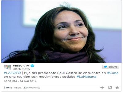 Cháu gái Fidel Castro có mặt trên máy bay Algeria gặp nạn chỉ là tin đồn