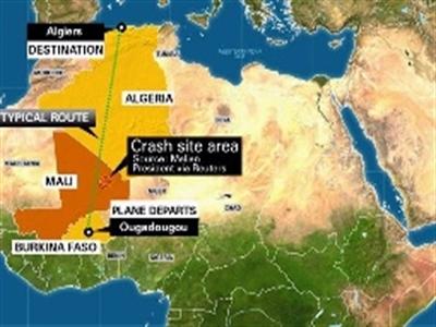 Không ai sống sót trong vụ rơi máy bay Air Algerie