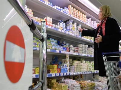 Nga cấm nhập khẩu tất cả sản phẩm từ sữa của Ukraine