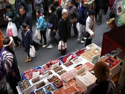 Lạm phát Nhật Bản chậm lại trong tháng 6