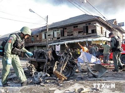 Đánh bom xe tại Thái Lan, hàng chục người thương vong