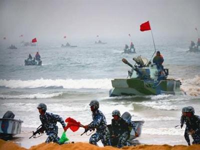 Trung Quốc diễn tập bắn đạn thật ở 4 vùng biển