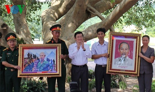 Chủ tịch nước thăm và khảo sát tuyến đảo tỉnh Quảng Ninh