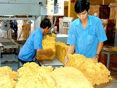 Giá trị xuất khẩu cao su sang Trung Quốc, Malaysia giảm mạnh
