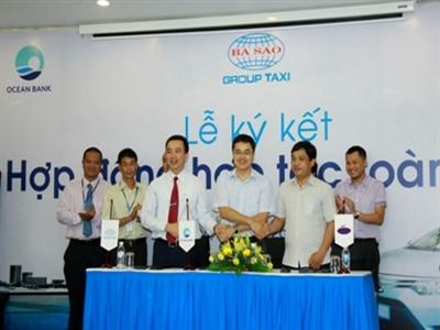 OceanBank ký kết hợp tác toàn diện với Taxi Ba Sao