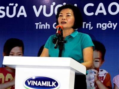 Vinamilk bổ nhiệm giám đốc nhân sự - hành chính, đối ngoại