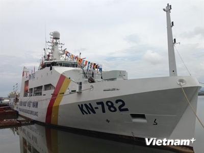 Bàn giao thêm 1 tàu kiểm ngư hiện đại nhất Việt Nam