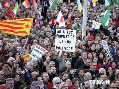 Tây Ban Nha nâng dự báo tăng trưởng kinh tế lên 1,5% năm 2014