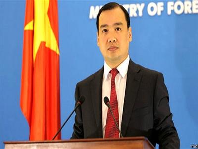 Việt Nam lên tiếng về việc Trung Quốc tập trận tại vùng biển vịnh Bắc Bộ