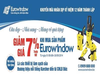 """Eurowindow: """"Cửa đẹp, nhà sang – Mang về quà tặng"""""""
