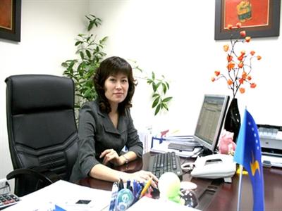 Bà Mai Hương Nội là Tổng giám đốc VinEcom