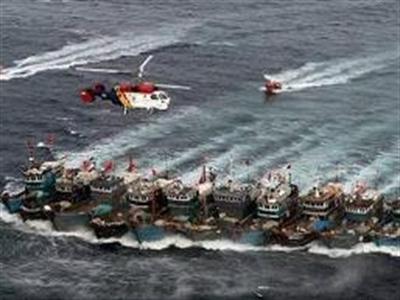 12h trưa nay, Trung Quốc xua hàng vạn tàu cá xuống biển Đông