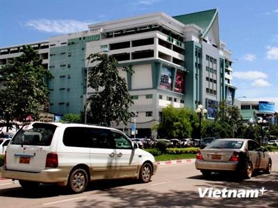 Doanh nghiệp Việt giúp Lào xây dựng một số trung tâm mua sắm