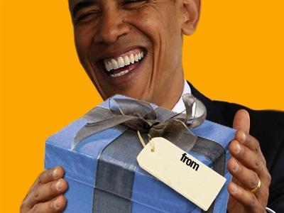 Chuyện quà sinh nhật của Barack Obama
