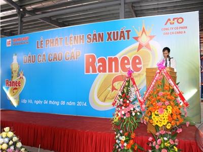 Sao Mai An Giang đưa nhà máy dầu cá vào hoạt động