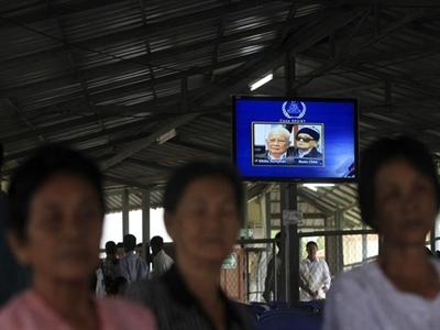 Hai thủ lĩnh Khmer Đỏ bị kết án chung thân vì tội