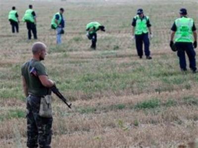 Hoàn thành 50% việc điều tra hiện trường vụ máy bay MH17