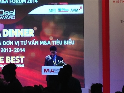 Thương vụ và Nhà  tư vấn M&A tiêu biểu Việt Nam 2013 – 2014