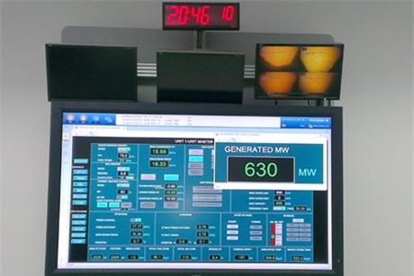 Nhiệt điện Vũng Áng: Tổ máy 1 phát điện vượt công suất