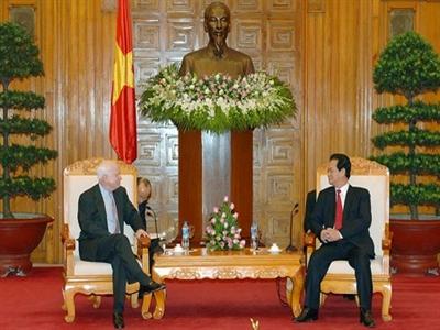 Việt Nam đề nghị Mỹ giúp nâng cao năng lực bảo vệ chủ quyền