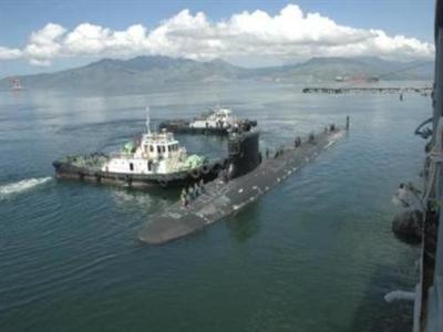 Tàu ngầm Mỹ vào vùng biển của Nga
