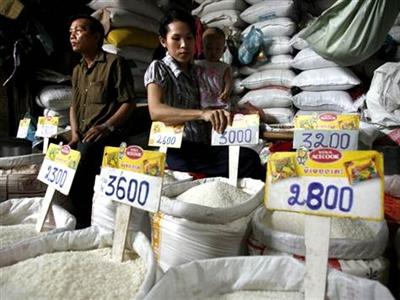 FAO: Giá gạo nội địa châu Á tháng 7 tăng mạnh