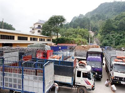 Nông sản xuất sang Trung Quốc giảm mạnh