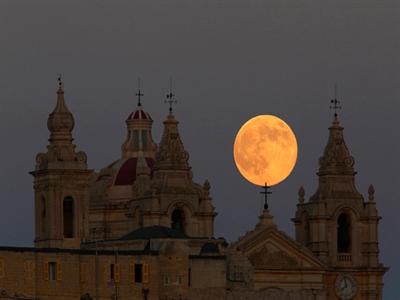 Siêu trăng lớn nhất năm 2014 bắt đầu từ đêm 10/8