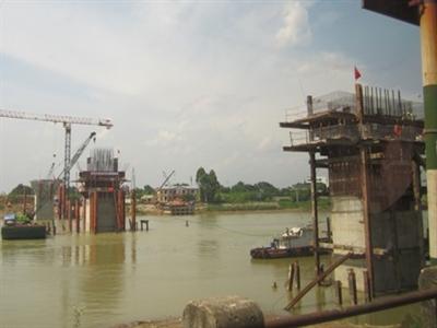 Thông xe cầu Việt Trì mới sớm 6 tháng