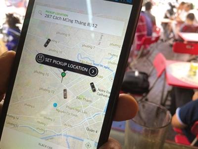 Dịch vụ taxi xe sang Uber chính thức hoạt động tại TP HCM
