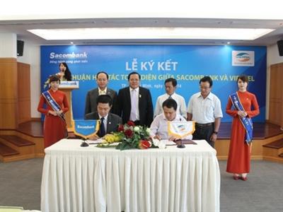 Sacombank và Viettel ký thỏa thuận hợp tác toàn diện