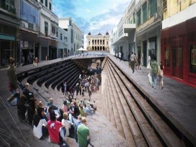 Lộ đề án kiến trúc mới của phố Tràng Tiền