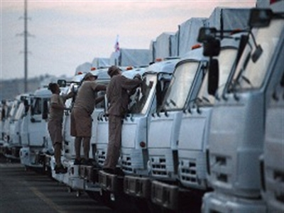 """Giải mã sự """"biến mất"""" bí ẩn của đoàn xe viện trợ từ Nga sang Ukraine"""