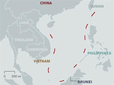 Trung Quốc phát hành sách về đường 9 đoạn