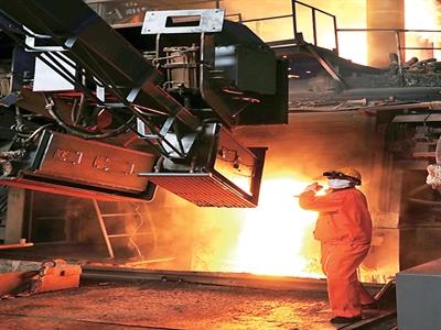 Trung Quốc: Sản lượng thép tháng 7 giảm 1,4%