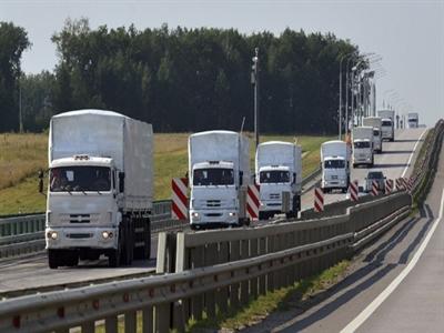 Đoàn xe viện trợ của Nga biến mất bí ẩn trên đường tới Ukraine