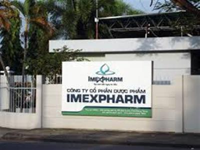 Imexpharm lên kế hoạch phát hành cổ phiếu thưởng tỷ lệ 50%