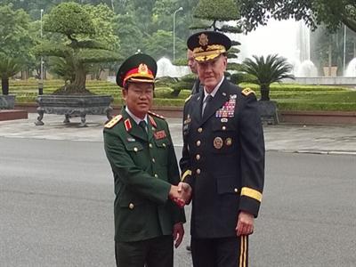 Đại tướng Hoa Kỳ: Chuyến thăm Việt Nam là dấu mốc quan trọng