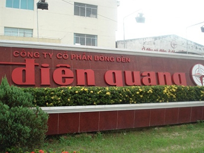 Bóng đèn Điện Quang 6 tháng lãi gần 75 tỷ đồng, nợ quá hạn từ Cu Ba hơn 483 tỷ đồng