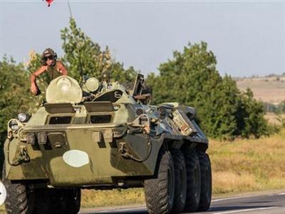 Ukraine tuyên bố phá hủy xe quân sự Nga xâm phạm lãnh thổ