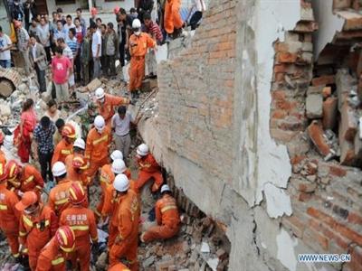 Động đất lại rung chuyển Tứ Xuyên, Trung Quốc