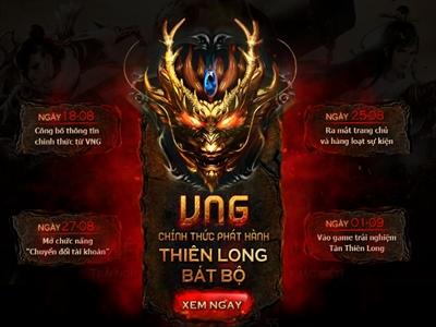 VNG thay FPT Online phát hành Thiên Long Bát Bộ tại Việt Nam