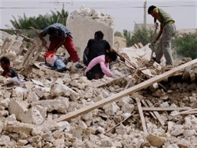Động đất mạnh rung chuyển Iran