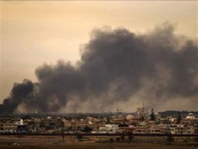 Máy bay lạ tấn công thủ đô Libya